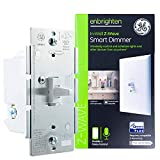 GE Enbrighten Z-Wave Plus Smart Light Dimmer, Works with Alexa, Google Assistant, 3-Way Compatible, ZWave Hub Required, Repeater/Range Extender, Toggle, 14295