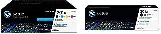 $374 » HP 201A | CF400AQ1 | 4 Toner Cartridges | Black, Cyan, Magenta, Yellow & 201A | CF400A | Toner Cartridge | Black