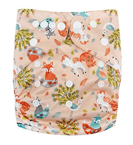 Happy Cherry Pantaloni pannolini riutilizzabili in tessuto lavabile Pannolini lavabili per pantaloni
