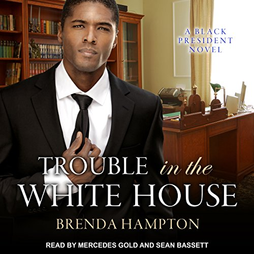 Trouble in the White House audiobook cover art