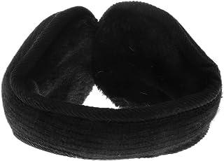 Baosity Womens Mens Winter Warm Adjustable Ear Warmers Foldable Fleece Earmuffs