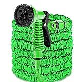 NAmobile Gartenschlauch Dehnbarer Wasserschlauch Flexibel 7,5m Wasser Pool Flex Schlauch