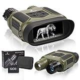 Binocolo digitale di visione notturna di caccia binocolo a infrarossi visione notturna caccia binocolo con 4 'grande schermo può registrare giorno o notte IR 5mp foto e video 640p da 400m/1300ft