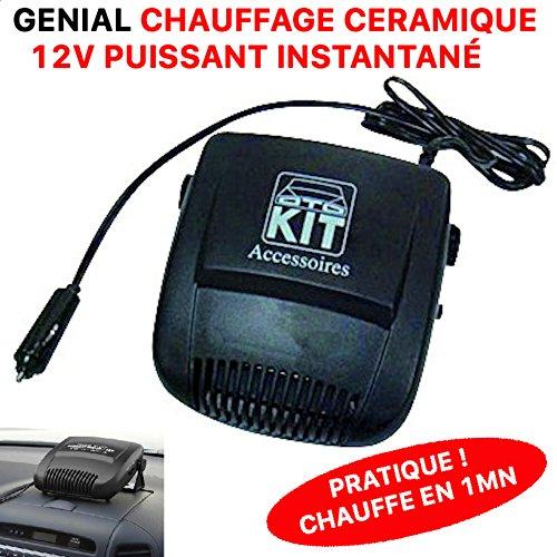 LCM2014 Ultra Pratique Chauffage 12V sur Allume Cigare CERAMIQUE 150W Chauffe en 1MN !