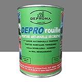 DEPROMA | Peintures glycéro | fer antirouille métaux | 200ml | Protection contre la rouille |...