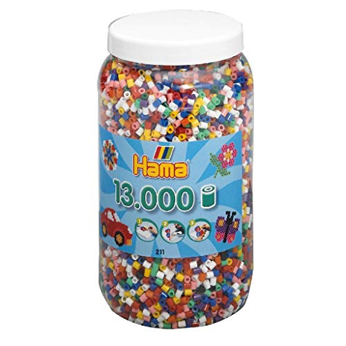 Hama - Bote de cuentas para creación de objetos , color/modelo surtido