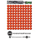 Dart Zone BallistixOps 100-Round Refill Pack for NERF Rival, 9206-100T, Orange