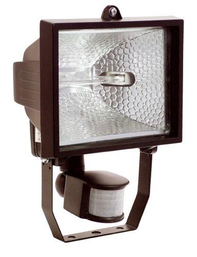 as - Schwabe 43502 halogeenlamp 400 W, met bewegingsmelder, zwart