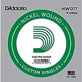 D'Addario NW017 - Cuerda para guitarra eléctrica de níquel.017