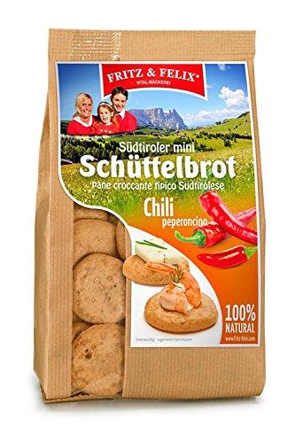 Family Happys mit Chili & Paprika Karton 10 x 125 gr. - Fritz & Felix