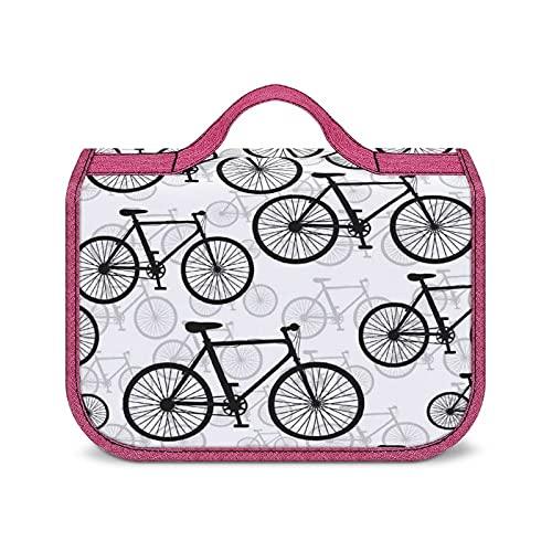 Trousse De Maquillage Résistante À l'eau Modèle De Vélos De Vélo Trousse De Toilette Sac De Voyage avec Crochet De Suspension