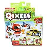Mini Kit 4 Créations Qixels - Thème Racing - Asmokids - Loisirs créatifs - Jeu Garçons