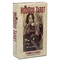 EGuideブックEinstruction占い運命予測カードゲーム付きの完全英語版のHoodooTarotデッキ