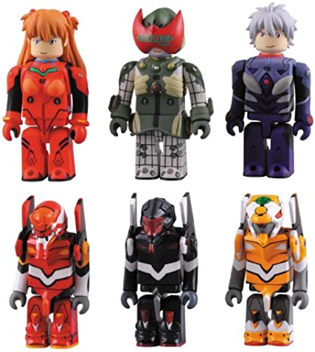 Evangelion 2.0 Kubrick Series 1(One Blind Box Sale) (japan import)