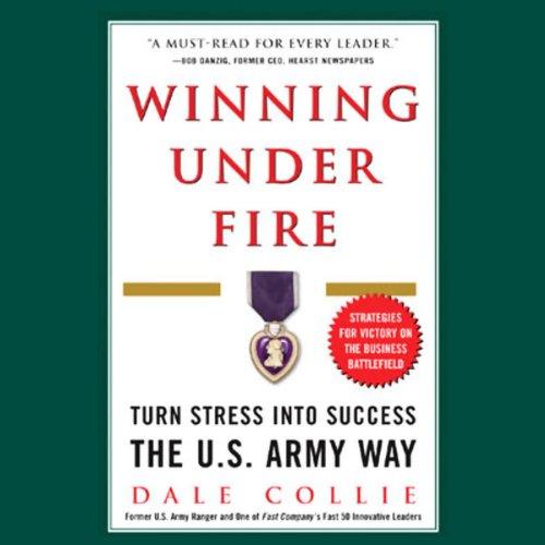 Winning Under Fire audiobook cover art
