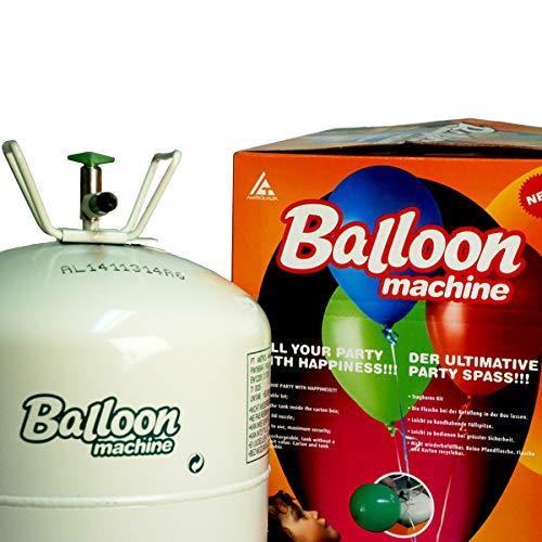 amscan Ballongas für bis zu 50 Ballons Helium für Latex und Luftballons