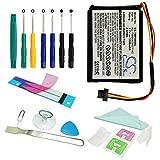 Batterie Li-ion de 1100 mAh CS-Pour GPS-Compatible avec Tomtom XXL et One...