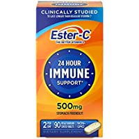 90-Count Ester-C 24 Hour Immune Support 1000mg Vitamin Tablets
