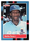 Melido Perez RC - Kansas City Royals (Baseball Card) 1988 Donruss # 589 NM/MT
