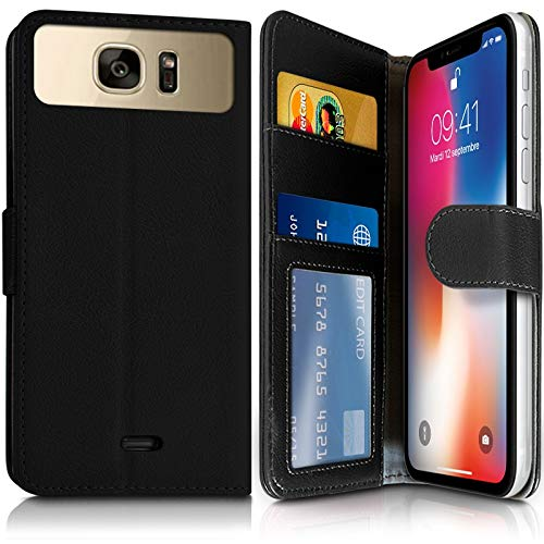 Karylax Schutzhülle für Smartphone Hisense C30 Rock Lite (Ref.4-A) Schwarz