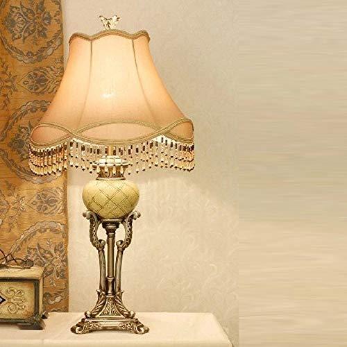 ETH lámpara de mesa Lámpara De Mesa, Sala De Estar Mesa De Café Muebles For El Hogar, De Lujo Creativo Resina De La Manera Clásica De Tabla Del Escritorio De La Lámpara, Lámpara De Mesa Grande (E27 Bo