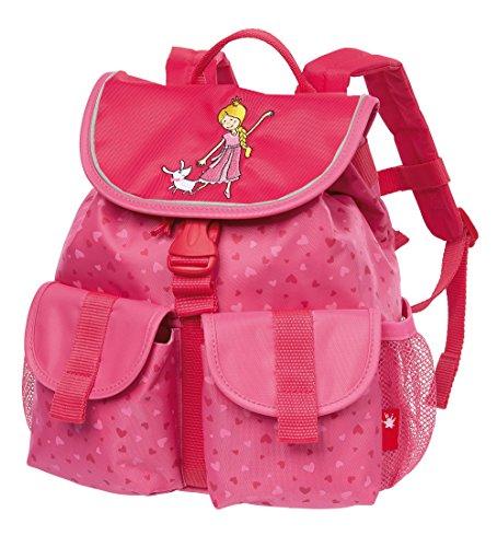 sigikid, Mädchen, Rucksack groß, Pinky Queeny Motiv, Rosa, 24912