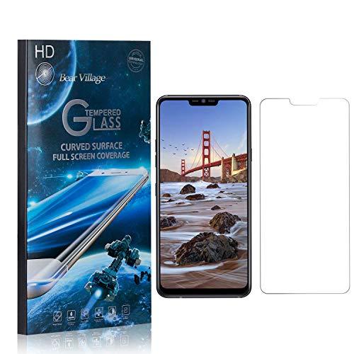 Bear Village® Displayschutzfolie für LG G7 ThinQ, 9H Hart Panzerglasfolie, Anti Kratzen, 99% Transparente Schutzfilm aus Gehärtetem Glas für LG G7 ThinQ, 1 Stück