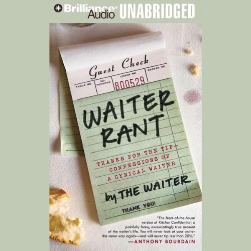 Waiter Rant audiobook cover art