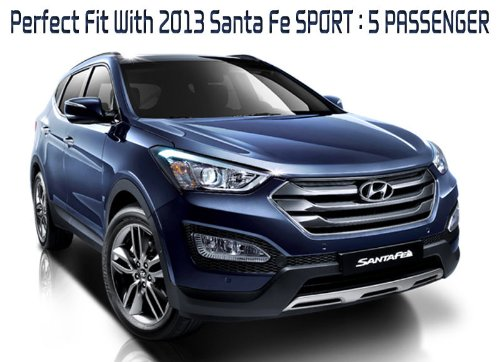 Doctc Tire & Engine Noise Reduction TNR 1-pc For 2013 2014 Hyundai Santa Fe SPORT : DM