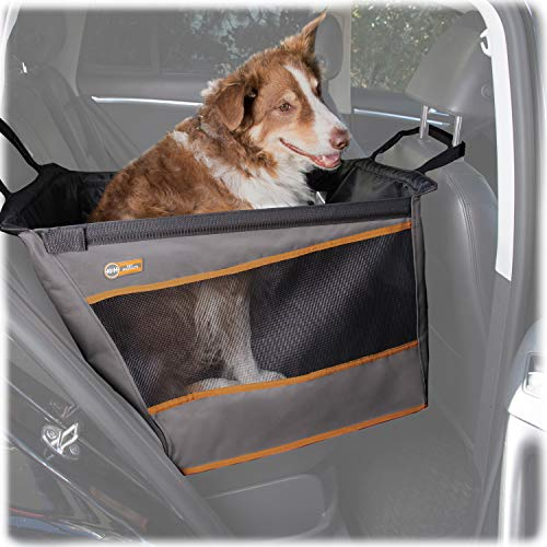 K&H PET PRODUCTS Buckle N' Go Car Seat for Pets Gray Large 21 X 19 X 19 Inches
