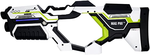 MAG P90 VR Gun Controller for HTC Vive Steam VR Virtuix Omni Treadmill Customized Green White Limited Edition Virtual Reality (Trademark Protect)