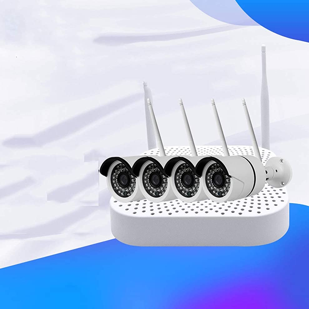 影響を受けやすいです歯科のキリスト方朝日スポーツ用品店 小場所無線ネットワーク監視システム無線ビデオカメラカメラセット130万HD