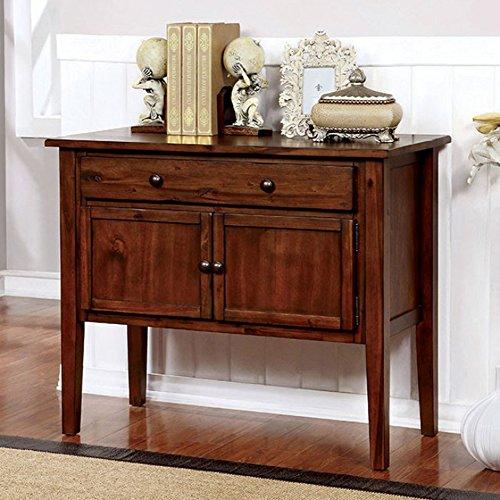 Furniture of America Trista Walnut Hallway Drawer Chest