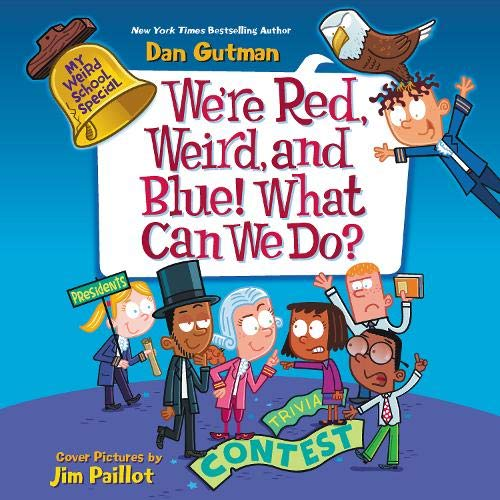 We're Red, Weird, and Blue! What Can We Do? cover art