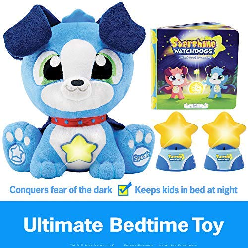 Starshine Watchdogs Orion Soothing Plush Night Light Bedtime Sleep Toy,...