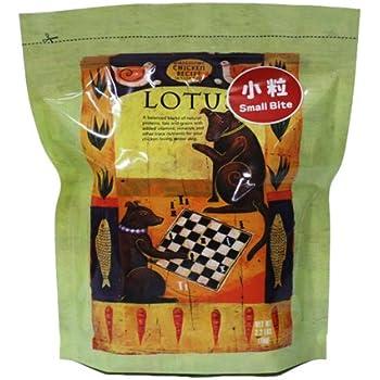LOTUS シニアチキンレシピ 小粒 1kg シニア犬用 ドッグフード