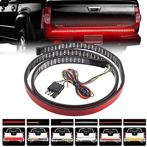 Teguangmei 48 Inchs Truck Tailgate Light Bar Triple Row Truck Tail Light Strip Super Bright product image