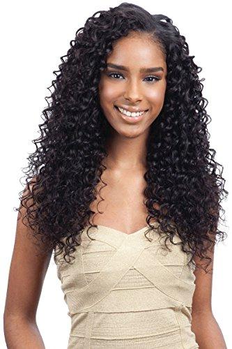 "NAKED BRAZILIAN DEEP WAVE 7PCS (18""/20""/22"", Natural) - Saga 100% Human Virgin Remy Hair Weave"
