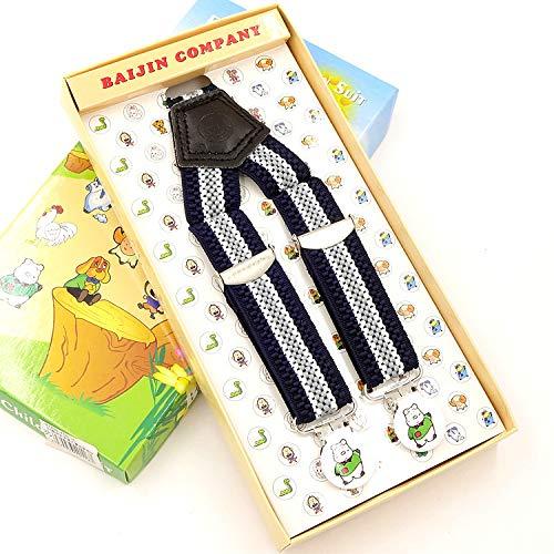 SUPOOGO Kinderriem Clip Gestreept Elastische Kind Hangende Broek Met Anti-Slip Jongens En Meisjes Baby Wild Elastische Verstelbare Band