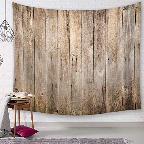 GenericBrands Teal Tapestry Tapiz de Tablero de Madera Personalizado Toalla de Playa Mantel Colgante de Pared para Dormitorio Sala de Estar Dormitorio Decoración