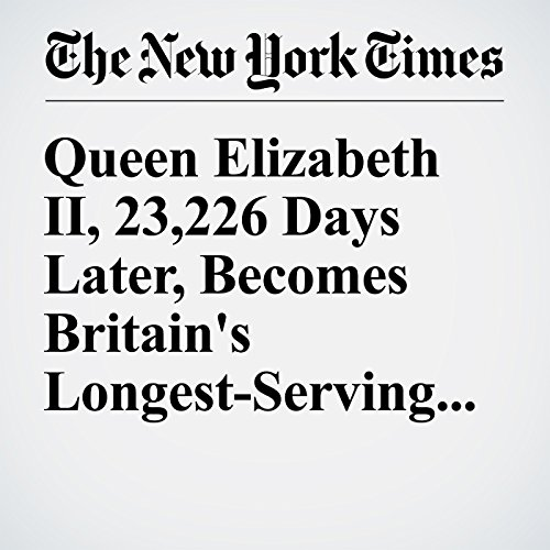 Queen Elizabeth II, 23,226 Days Later, Becomes Britain's Longest-Serving Monarch cover art