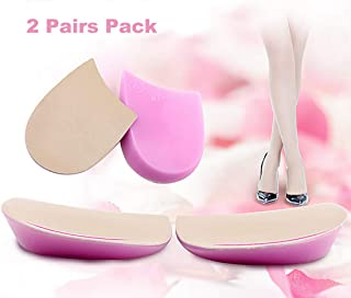 Knock-Knee Bow Leg Correction Heel Cup O/X Type Leg Heel Cushion Pads Orthotic Shoes Inserts for Women and Men
