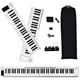 Lexington 88-Key Splicing Intelligent Piano Electronic Keyboard for Kids Beginners with Full Size Semi Weighted Touch Sensitive Keys, MIDI, Power Supply, Built In Speakers