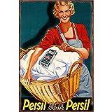 KODY HYDE Metall Poster - Persil - Vintage Blechschilder