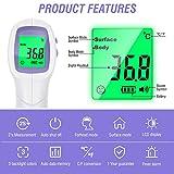 Immagine 1 termometro infrarossi digitale allarme temperatura