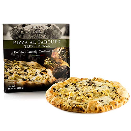 Truffle Pizza with Artichokes and Black Italian Truffles - 15 ounces