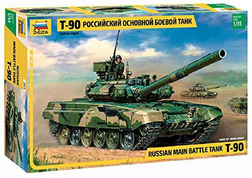Zvezda 500783573 - Modellino di carroarmato russo T-90, scala: 1:35