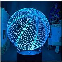 3Dイリュージョンナイトライト クリエイティブスフィア スマートタッチ キッズ3Dナイトライトベッドサイドランプおもちゃライト7色変更コントロール男の子のための最高のクリスマスと誕生日プレゼント子供