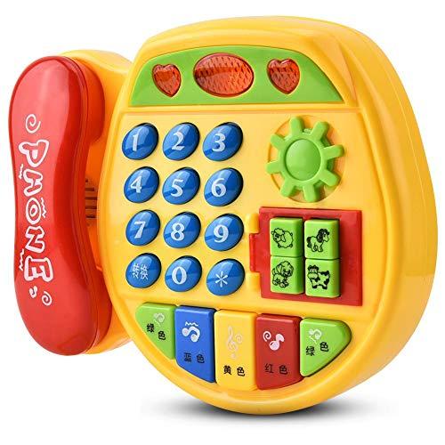 Langlebiges Soft Music Puzzle Toy, Telefonspielzeug, Perfect Safe für Kinder Kinder Ideal Gift Home