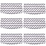 KEEPOW 6 Packs Steam Mop Pads Replacement for Shark Vacuum Cleaner S1000UK S1000A S1000 S1000C S1000WM S1001C